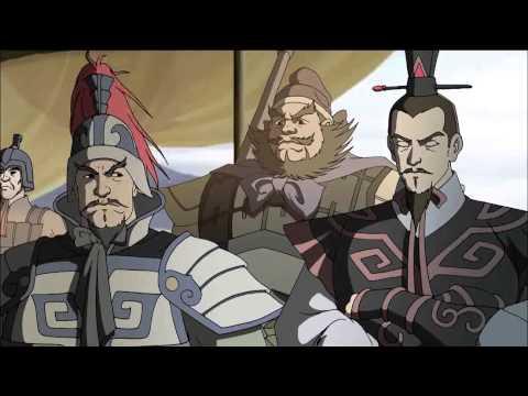 Cartoon Romance of the Three Kingdoms  Chinese history  03 三英战吕布