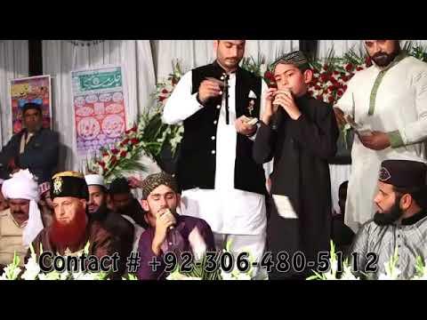Aa vi ja Wallail Zulfan Walya-Mehran & Faizan Ali Qadri Nokhar Mehfil-e-Naat 2015