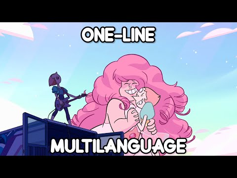 Steven Universe The Movie - Happily Ever After Pearl's Part (One Line Multilanguage) (6 Languages)