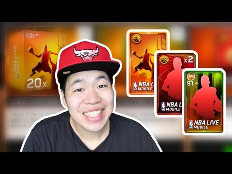 Massive Summer Courts Pack Opening - Chicago Master Jason Williams is Here - Nba Live mobile