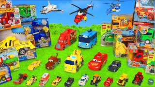 Excavator, Fire Truck, Garbage Trucks, Tractor & Police Cars Toy Vehicles for Kids