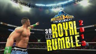WWE 13 Royal Rumble 2013 Match