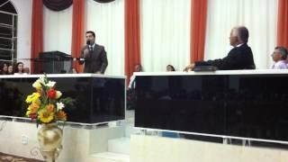 Ev Alex Meneses Tema Vivendo o amor de Deus em Alto Arroio Imbituba SC