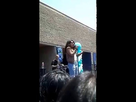 Alessia Cara Perform at Mira Mesa High School!