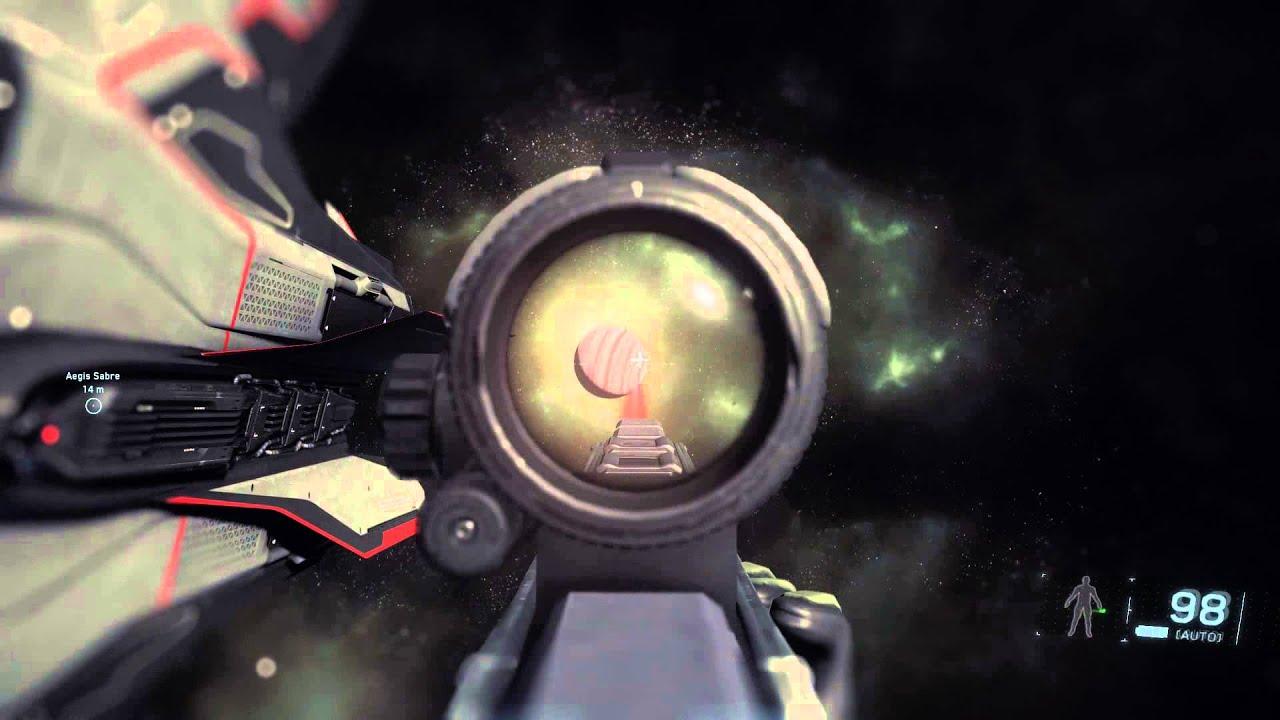 ... Alpha 2 2e PTU - Firing the Klaus & Werner ATT4 energy rifle - YouTube