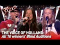 TOP 10 | All WINNERS' Blind Auditions: The Voice of Holland