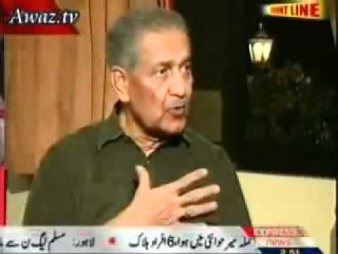 nawaz shareef ke haqeqat   from   Dr. Abdul Qadeer Khan   By          Riaz Ahmad Khan Badani.flv