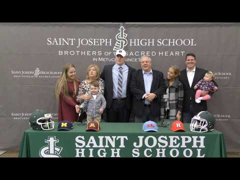 Saint Joseph High School's John Olmstead '19 Chooses Notre Dame
