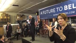 Bernie sanders-Hillary doesn