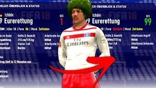 KANN EIN SPIELER MIT RATING 1 DIE 99 ERREICHEN ?!! 🤔😂 FIFA 18 Mod Experiment