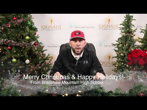 Merry Christmas and Happy Holidays from Bradshaw Mountain High School