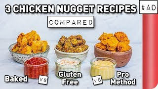 3 Chicken Nugget Recipes COMPARED
