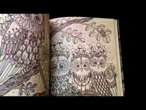 Colouring Book Flip Through Dagdrommar Daydreaming