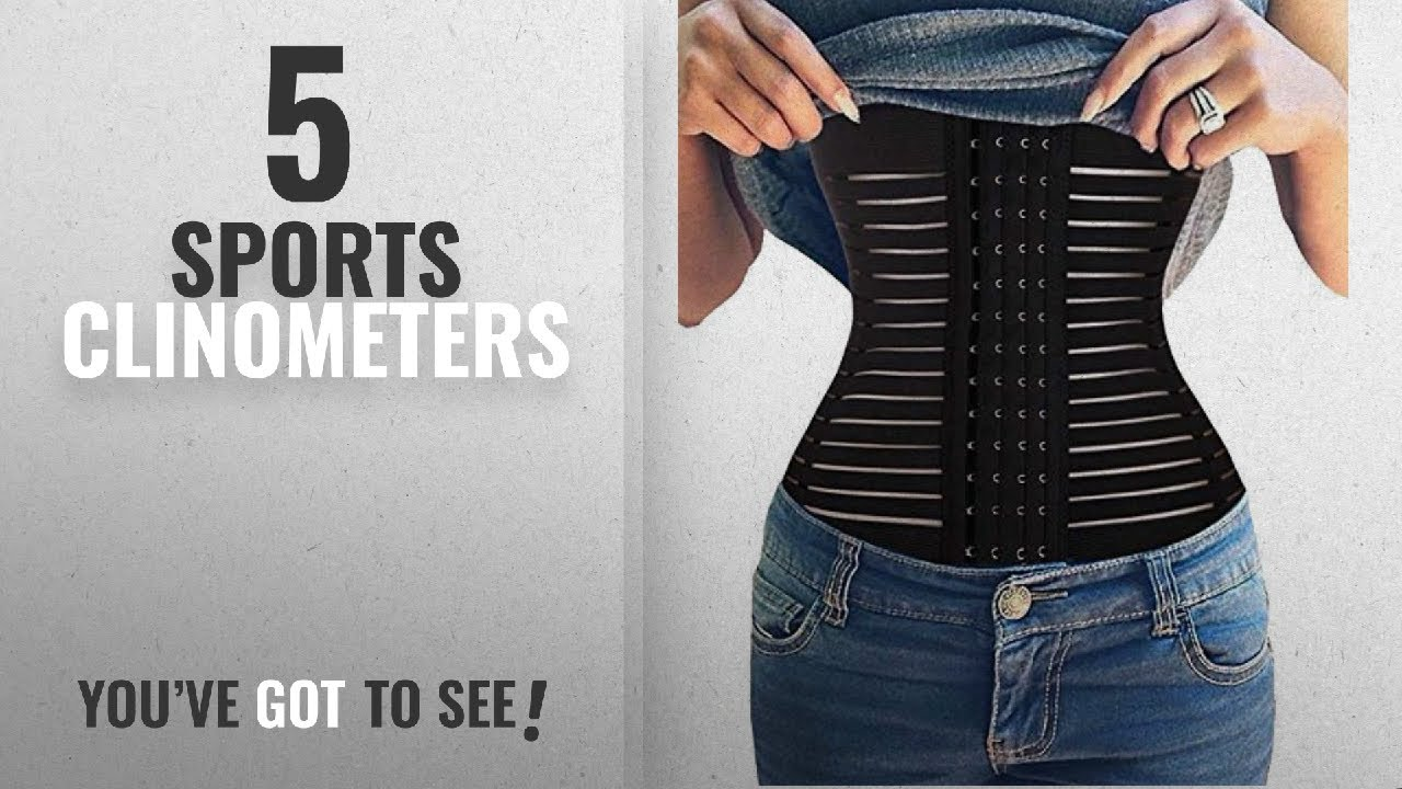 3799678f85012 Top 10 Sports Clinometers  2018   Gotoly Quick Weight Loss Body Shaper  Belly Waist Trainer Training
