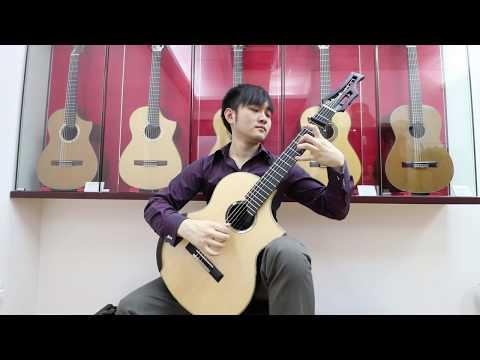 "J. S. Bach - Air on G String ""Classical Guitar"" (Steven Law)"