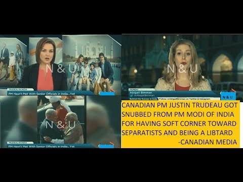 Canadian Media on Justin Trudeau got snubbed by Indian Govt. and PM Modi | foreign media on India