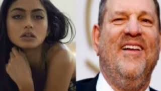 Harvey Weinstein Recording Surfaces Of Him Being a Creep & groping a model