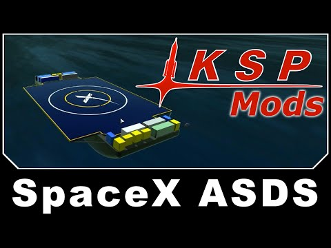 KSP Mods - SpaceX ASDS
