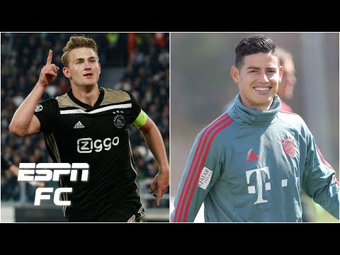 Matthijs de Ligt to Barcelona? James Rodriguez to stay at Bayern? | Transfer Rater