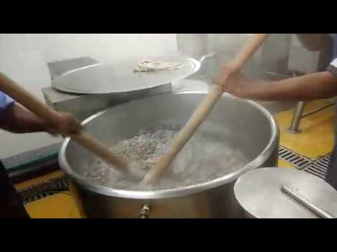 Ragi Mudde Making in Commercial Induction Stock Pot 2
