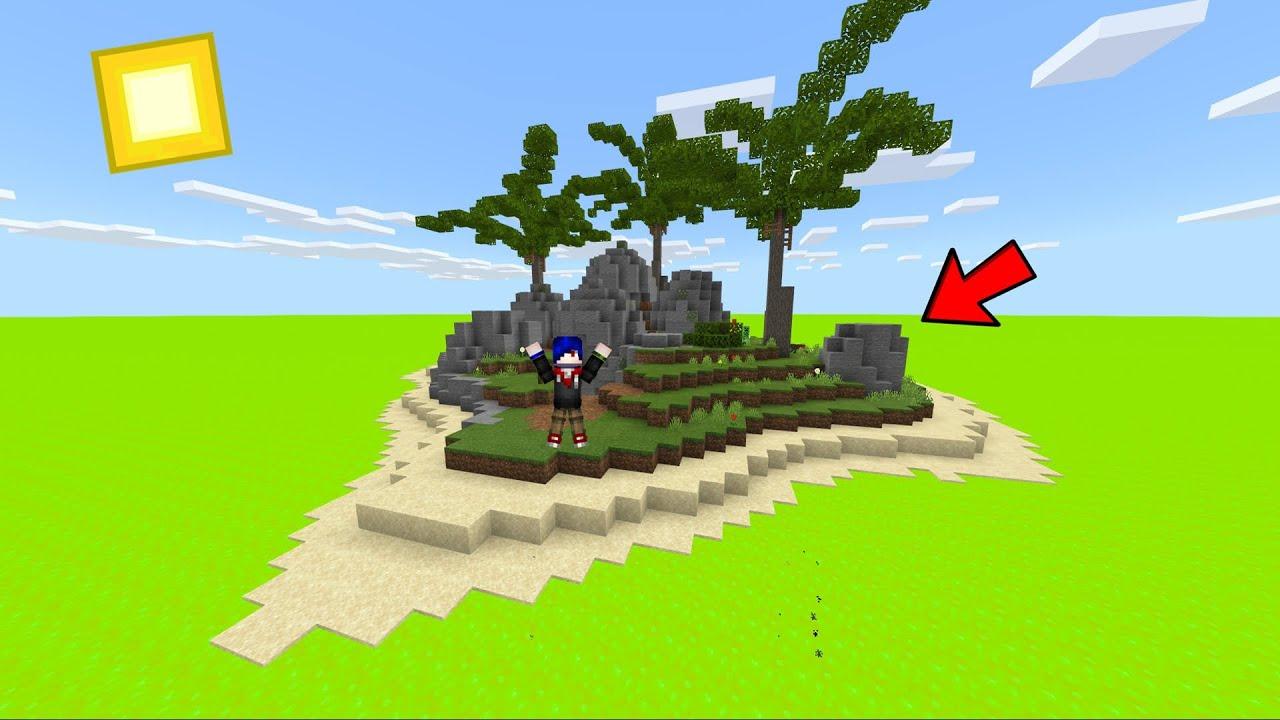 """มายคราฟ แต่ว่า! เราต้องติดอยู่ในเกาะที่ล้อมด้วยพิษ """"24 ชั่วโมง"""" ! (Minecraft Toxic Island)"""