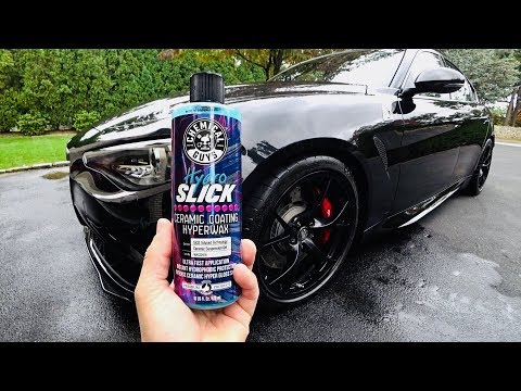 Chemical Guys HydroSlick Si02 Infused Hyper Wax That Works!