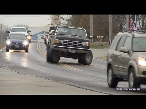 Thumbnail: Black ice sliding and traffic chaos - Wentzville, MO, December 16, 2016