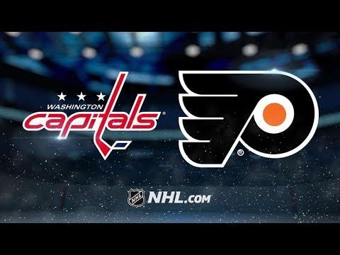 Washington Capitals Vs. Philadelphia Flyers | NHL Game Recap | October 14, 2017 | HD