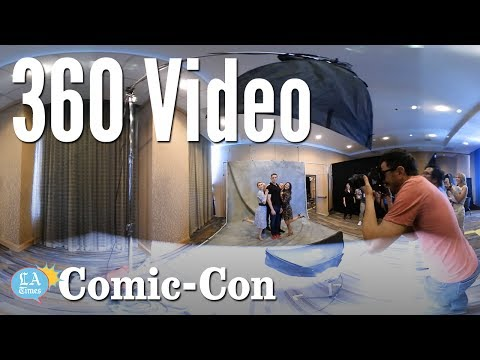"""""""The Tick"""" 360 Video: Comic-Con   Los Angeles Times"""