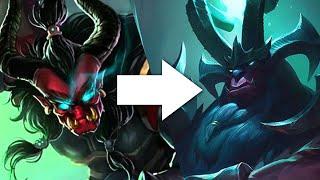 Evolution of Splash Arts: 2017 (League of Legends)