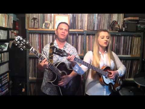 Me Singing 'Sleepless Nights' By The Everly Brothers (With My Dad!)
