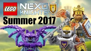 LEGO Nexo Knights 2017 Summer sets list!