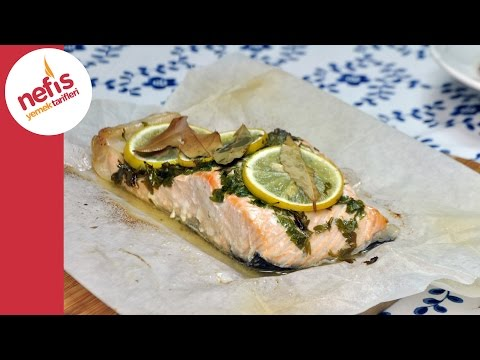 Fırında Somon Tarifi | Fırında Balık...