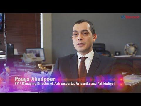 US Television - Azerbaijan - Interview with Pouya Ahadpour - Aztransporta/Aztexnika/Aztikintiyol