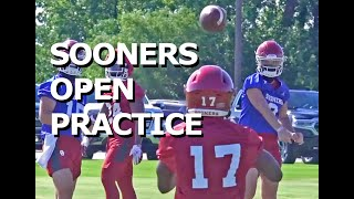 Sooners open practice