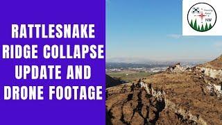 1800 Ft mountain collapse update - rattlesnake ridge