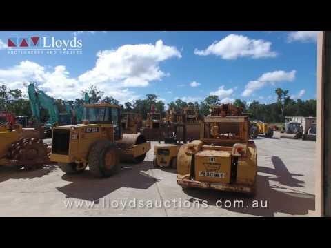 Earthmoving Equipment Auction Australia - Lloyds Auctions Plant & Machinery