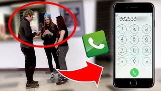 KIZLARIN TELEFON NUMARASINI ALDIM