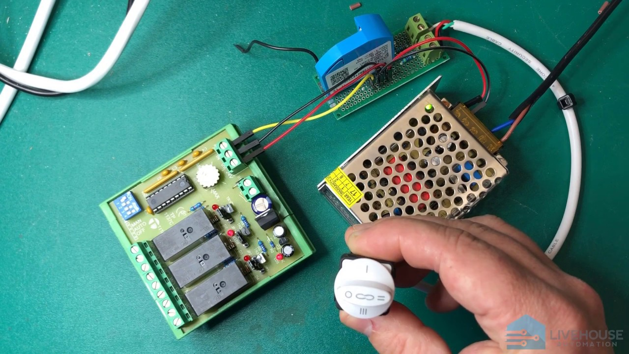 Z-wave 3-Speed Ceiling Fan Control using 0-10V Relays