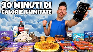 30 MINUTI DI CALORIE ILLIMITATE CHALLENGE (AMCAP) - MAN VS FOOD