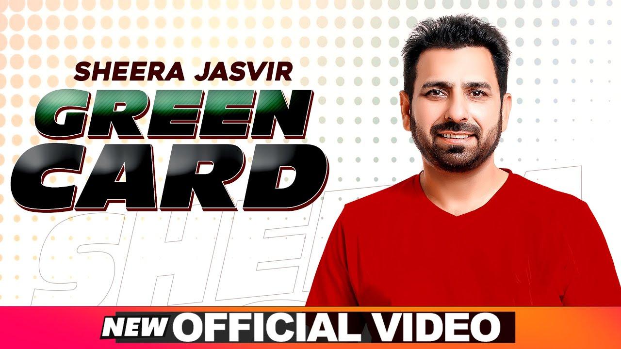 SHEERA JASVIR Live 3 | Green Card (Official Video) | Latest Punjabi Songs 2020 | Speed Records