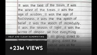 ||Super clean handwriting|| calligraphy |SPECIAL PRINT|Rahul Ryachand | English Handwriting|