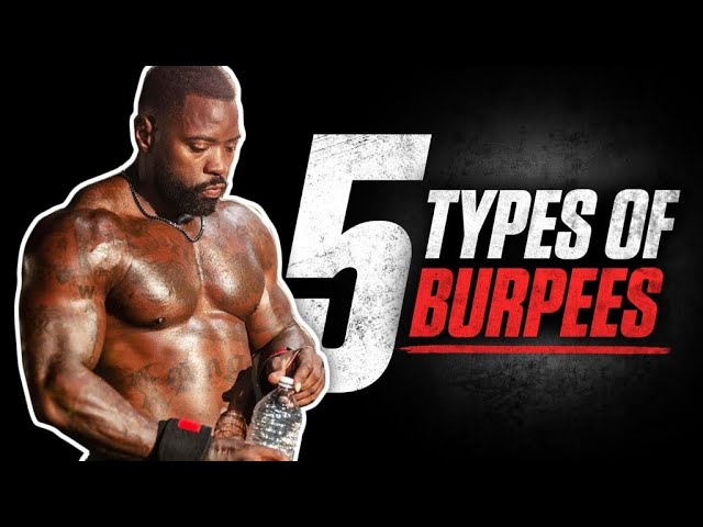 5 Types of Burpees   Total Body Workout   Mike Rashid