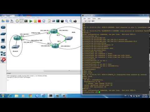 Cisco router WAN Redundancy/WAN Failover and Change Routing