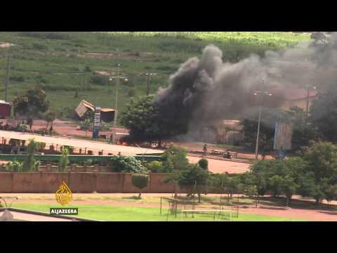 Violence grips Burkina Faso's capital Ouagadougou