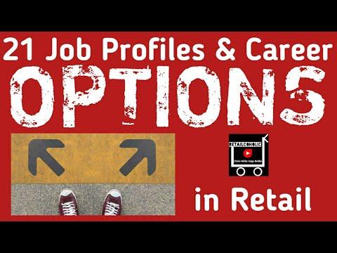 21 Job Profiles & Career Options in Retail Sector Hindi.
