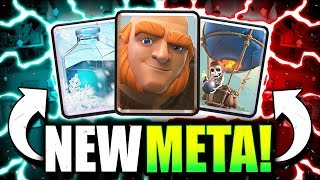 THE ULTIMATE NEW META TROPHY DECK!! GIANT LOON OP! Clash Royale Balloon Deck 2018