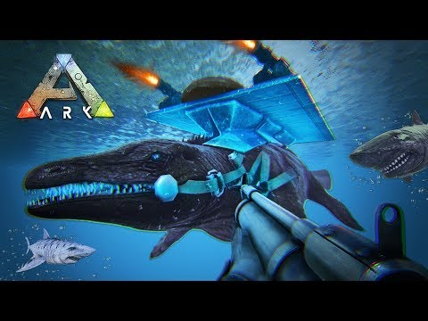 ARK: Survival Evolved - TAMING UNDERWATER DINOSAURS!! (ARK Ragnarok Gameplay)
