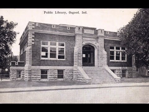 Osgood,  Indiana,  Carnegie  Public  Library