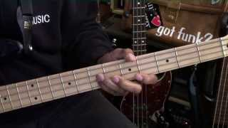 The Commodores BRICK HOUSE Funk Bag Bass Guitar Lesson EricBlackmonMusicHD